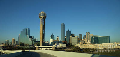 Downtown Dallas, Texas Art Print