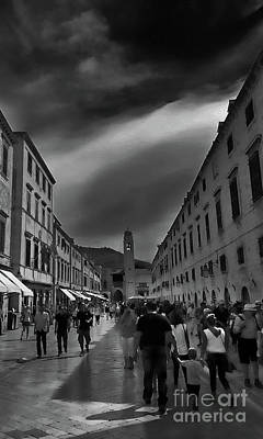 Photograph - Downtown Dubrovnik - Croatia by Doc Braham