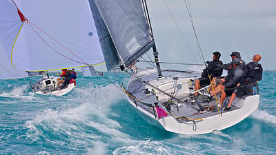 Photograph - Downwind At Key West by Steven Lapkin