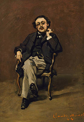 Painting - Dr. Leclenche by Claude Monet