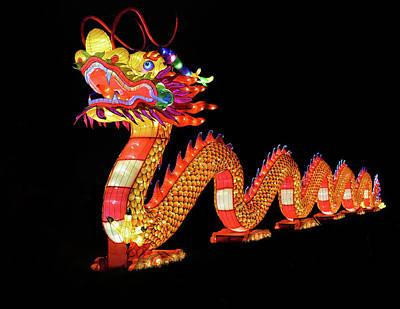 Photograph - Dragon Lantern by Vic Harris