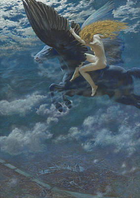 Valkyrie Painting - Dream Idyll  by Edward Robert Hughes