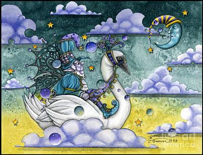Christi Brown Painting - Dream Voyage by Christi Brown
