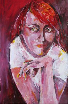 Dreaming Away Original by Brigitte Hintner