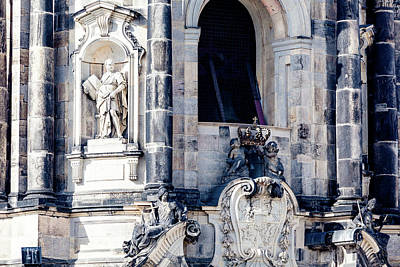 Pop Art - Dresden Dom by Hristo Shanov