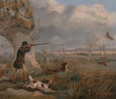 Painting - Duck Shooting by Treasury Classics Art
