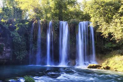 Duden Waterfall - Turkey Art Print