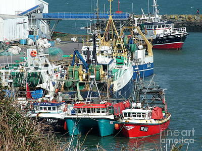 Dunmore East Harbour Art Print