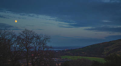 Photograph - Dusk Over The Calton Hill by Edyta K Photography