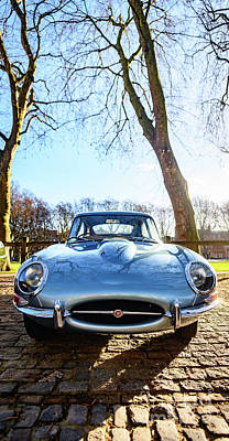 E Type Jaguar Art Print