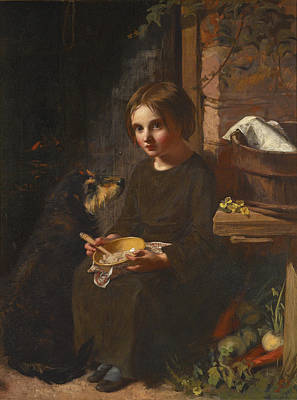 Painting - Early Breakfast by James Sant