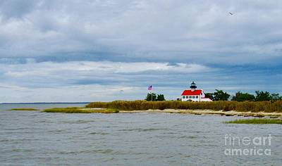Photograph - East Point Lighthouse by Nancy Patterson