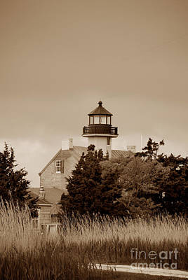 Basketball Patents - East Point Lighthouse Nj by Skip Willits