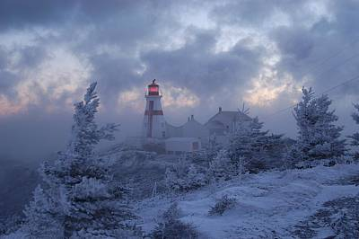 East Quoddy Lighthouse 36 Below Art Print