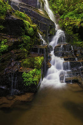 Photograph - Eastatoe Falls by Reid Northrup