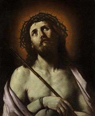 Baptism Painting - Ecce Homo by Guido Reni