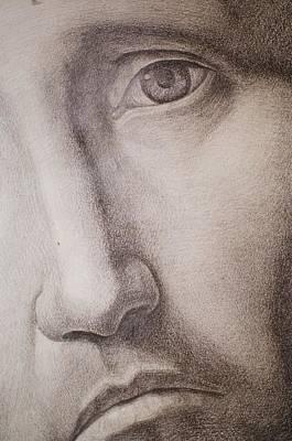 Antonello Da Messina Drawing - Ecce Homo by Roland Pangrati