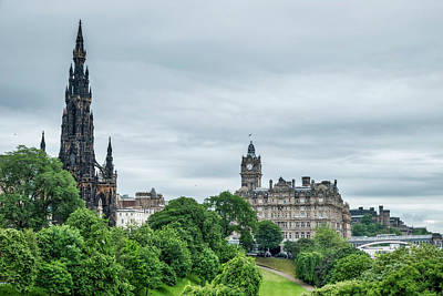 Photograph - Edinburgh by Jeremy Lavender Photography