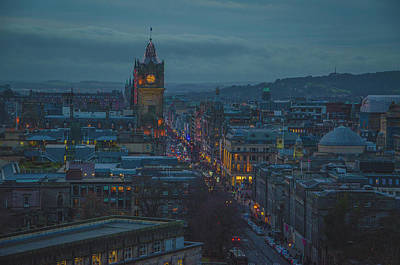 Photograph - Edinburgh - Princes Street by Edyta K Photography