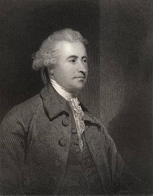 Orator Drawing - Edmund Burke 1729 To 1797 Anglo Irish by Vintage Design Pics