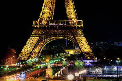 Eiffel Tower Art Print by Andrew Soundarajan