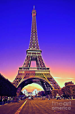 Photograph - Eiffel Tower by Charuhas Images
