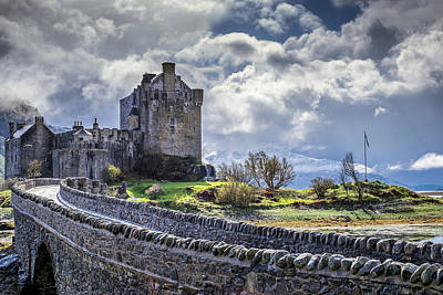 Photograph - Eilean Donan Castle, Dornie, Kyle Of Lochalsh, Isle Of Skye, Scotland, Uk by Neil Alexander