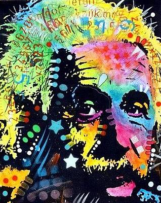 Einstein Painting - Einstein by Dean Russo