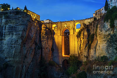 Photograph - El Tajo Canyon Of Ronda Malaga Spain by Pablo Avanzini