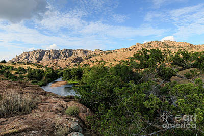 Photograph - Elk Mountain And Post Oak Creek by Richard Smith