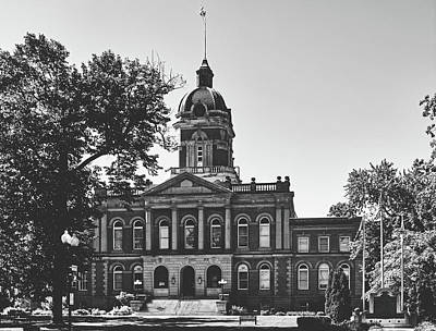 Photograph - Elkhart County Courthouse - Goshen, Indiana by Library Of Congress