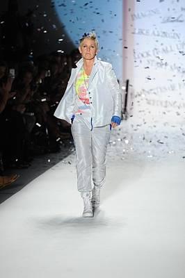 Mercedes-benz Fashion Week Show Photograph - Ellen Degeneres In Attendance by Everett