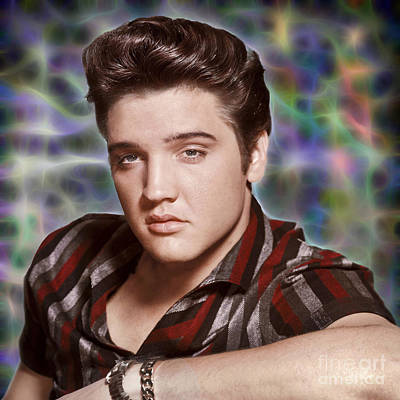 Photograph - Elvis Presley  by Doc Braham