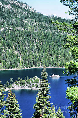 Photograph - Emerald Bay by Nancy Chambers