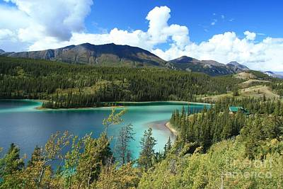 Photograph - Emerald Lake by Frank Townsley
