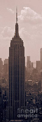 Photograph - Empire State Building by Celestial Images