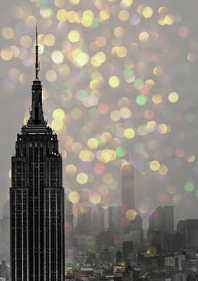 Empire State Art Print by Martin Newman