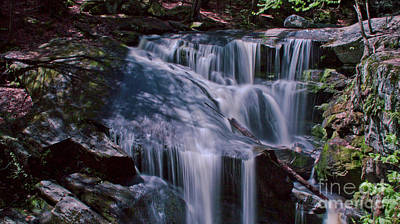 Photograph - Enders Falls by New England Photography