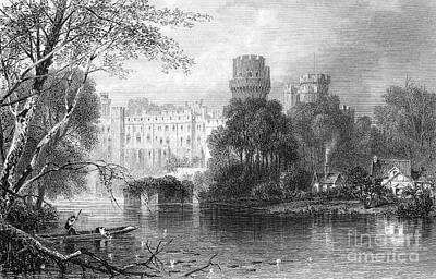 England: Warwick Castle Print by Granger