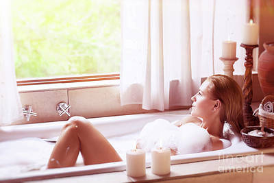 Photograph - Enjoying Day Spa by Anna Om