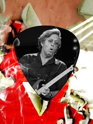 Eric Clapton Mixed Media - Eric Clapton Art by Marvin Blaine