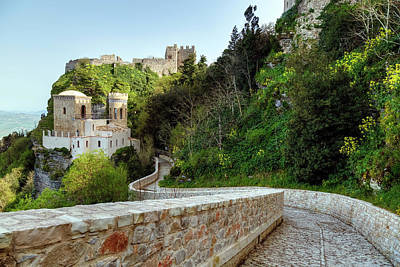 Normans Photograph - Erice - Sicily by Joana Kruse
