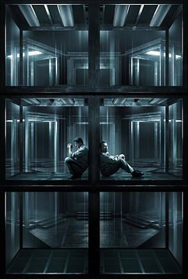 Scary Digital Art - Escape Plan 2013  by Fine Artist