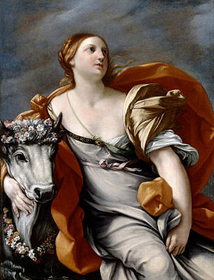 Photograph - Europa And The Bull by Guido Reni