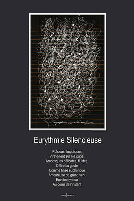Mixed Media - Eurythmie Silencieuse by Nicole Lemelin