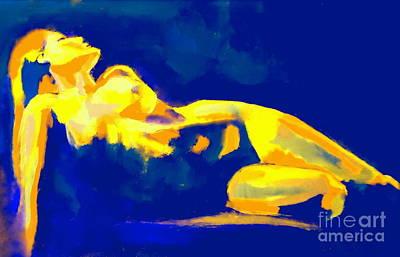 Evening Nude Art Print