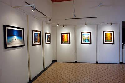 Exhibition Cozumel Museum Art Print by Angel Ortiz