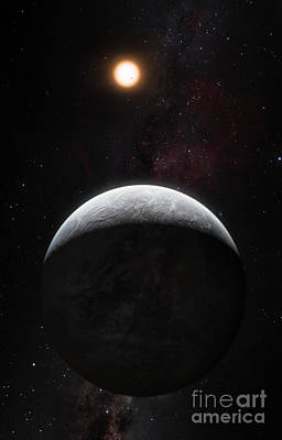 Heavenly Body Photograph - Exoplanet Hd 85512 B by ESO/Martin Kornmesser