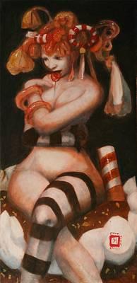 Exotic Candy Art Print by Ralph Nixon Jr