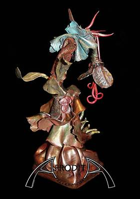 Sculpture - Exotic Fantasy by Afrodita Ellerman